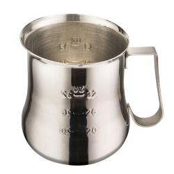 Winco - WPE-40 - 40 oz Stainless Steel Frothing Pitcher image