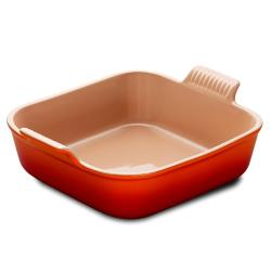 Le Creuset - PG0800-232 - Heritage Stoneware 9 in Orange Baking Dish image
