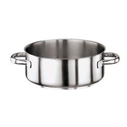 World Cuisine - 11009-45 - Series 1000 26 qt Stainless Steel Rondeau Pot image
