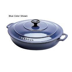 World Cuisine - A1737330 - Chasseur 3 qt Red Rondeau Pan image