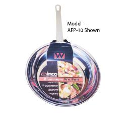 Winco - AFP-14 - Majestic 14 in Aluminum Fry Pan image