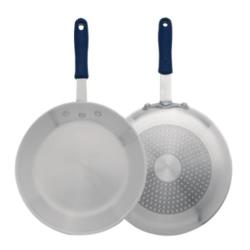 Winco - AFPI-8H - 8 in Aluminum Fry Pan With Silicone Sleeve image