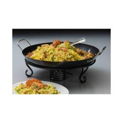 American Metalcraft - GS1775 - 17 3/4 in Carbon Steel Paella Pan image