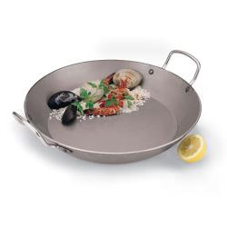 World Cuisine - A4172345 - 17 3/4 in Carbon Steel Paella Pan image