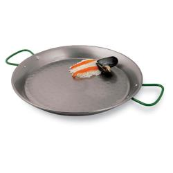 World Cuisine - A4172460 - 23 5/8 in Carbon Steel Paella Pan image