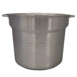 Crestware - PASTA20IL - 20 qt Aluminum Blanching Pot Perforated Insert image