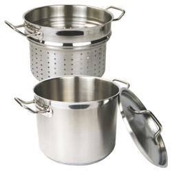 Thunder Group - SLSPC012 - 12 qt Stainless Steel Pasta Cooker image