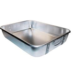Winco - ALRP-1824 - 18 in x 24 in Aluminum Roasting Pan image