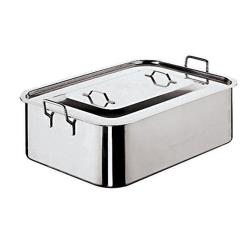 World Cuisine - 11965-50 - Stainless Steel Deep Brazier  image