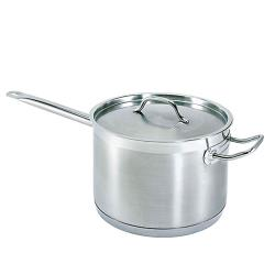 Update  - SSP-10 - 10 Qt Induction Ready Stainless Steel Sauce Pan image