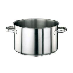 World Cuisine - 11007-40 - Series 1000 31 3/4 qt Stainless Steel Sauce Pot image