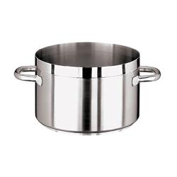World Cuisine - 11107-24 - Grand Gourmet 6 7/8 qt Stainless Steel Sauce Pot  image
