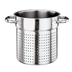 World Cuisine - 11123-28 - Grand Gourmet 11 in Stainless Steel Stock Pot Colander image
