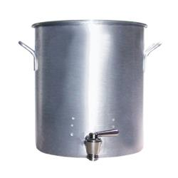 Vollrath - 68681 - Classic Select® 80 Qt Aluminum Stock Pot with Faucet image