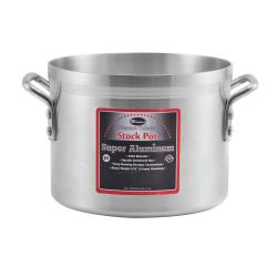 Winco - AXS-32 - Super Aluminum 32 qt Stock Pot image