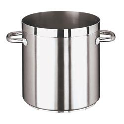 World Cuisine - 11101-24 - Grand Gourmet 10 1/2 qt Stainless Steel Stock Pot image