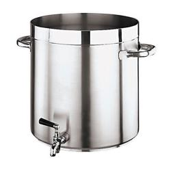 World Cuisine - 11102-28 - Grand Gourmet 17 1/2 qt Stainless Steel Stock Pot image
