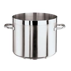 World Cuisine - 11105-28 - Grand Gourmet 15 1/4 qt Stainless Steel Low Stock Pot image