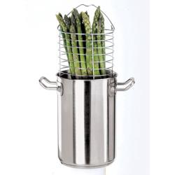 World Cuisine - 12037-16 - Stainless Steel Asparagus Steamer Set image