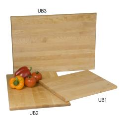 Focus Foodservice - UB2 - 16 in x 12 in x 3/4 in Cutting Board image
