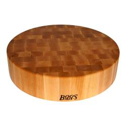 John Boos - CCB24-R - 24 in x 4 in Round Chop Block image