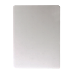 San Jamar - CB12181WH - 12 in x 18 in White Cutting Board image