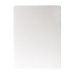 San Jamar - CB15201WH - 15 in x 20 in White Cutting Board image