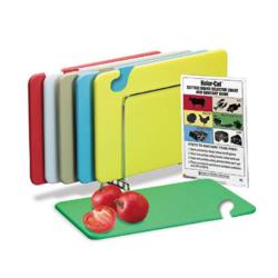 San Jamar - CB1520KC - 15 in (W) x 20 in (L) x 1/2 in (H) 6 Piece Cutting Board Set image