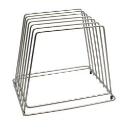 Tablecraft - CBR6 - Stainless Steel Cutting Board Rack image