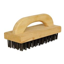 Winco - BR-9 - 9 1/4 in Butcher Block Brush image