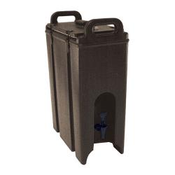 Cambro - 500LCD131 - Camtainer 4 3/4 gal Brown Beverage Carrier image