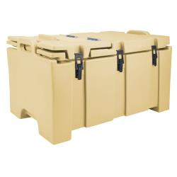 Cambro - 100MPC - Camcarrier Full Size 2 1/2 in Deep Beige Pan Carrier image