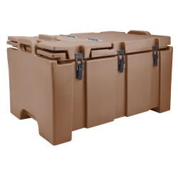 Cambro - 100MPC - Camcarrier Full Size 2 1/2 in Deep Brown Pan Carrier image