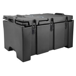 Cambro - 100MPC110 - Camcarrier Full Size 2 1/2 in Deep Black Pan Carrier image