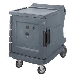 Cambro - CMBHC1826LF191 - 42 3/8 in Granite Gray Camtherm® Hot and Cold Cart image