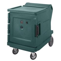 Cambro - CMBHC1826LF192 - 42 3/8 in Granite Green Camtherm® Hot and Cold Cart image