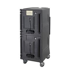 Cambro - CMBPH2HD615 - Tall Insulated Electric 220V Food Transport Cart image
