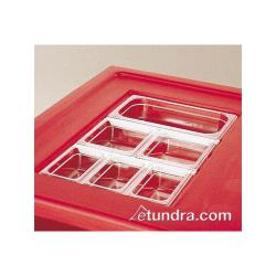 Cambro - DIV12 - Camcarrier 12 3/4 in Clear Divider Bar image