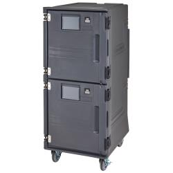 Cambro - PCUPH615 - Pro Cart Ultra™ 110V Tall, Non-electric Top/Hot Bottom, Food Carrier image