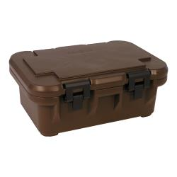 Cambro - UPCS160 - Camcarrier Full Size 6 in Deep Brown Pan Carrier image
