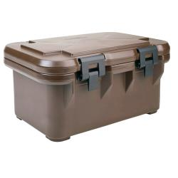 Cambro - UPCS180131 - Camcarrier Full Size 8 in Deep Brown Pan Carrier image