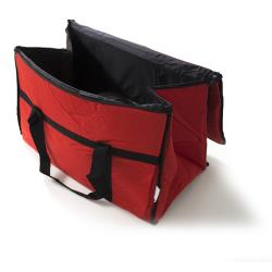 LibertyWare - TXTIFC1322RD - 12 in x 22 in Red Food Pan Carrier image