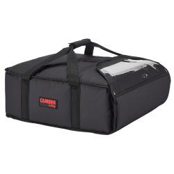 Cambro - GBP216110 - 2-Box Black GoBag® 16 in Pizza Delivery Bag image