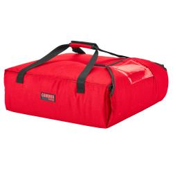 Cambro - GBPP212521 - 12 1/2 in x 13 3/4 in Red Premium GoBag™ Pizza Delivery Bag image