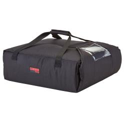 Cambro - GBPP214110 - 14 3/4 in x 15 1/4 in Black Premium GoBag™ Pizza Delivery Bag image