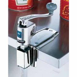 Edlund - U-12SL - Quick Change Manual Can Opener with Long Bar and Stainless Steel Base image