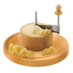 World Cuisine - 48281-22 - 8 5/8 in Round Girolle Cheese Scraper image