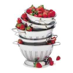 Focus Foodservice - 895 - 8 in Stainless Steel Colander image