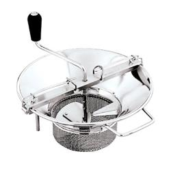 "World Cuisine - 42574-37 - #5 Stainless Food Mill w/1/8"" Sieve image"