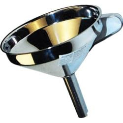 Winco - SF-5 - 5 in Stainless Steel Funnel image